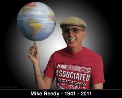Mike Reedy, legend of RC Car Racing who passed away May 2011, pictured spinning the world like a basketball - with 28 world titles, he was entitled...